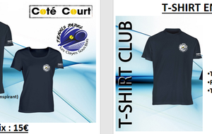 T-shirt club adulte et enfant